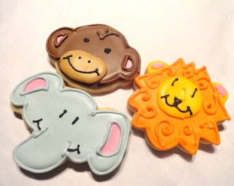 Zoo Animal Cookies (3 dozen)