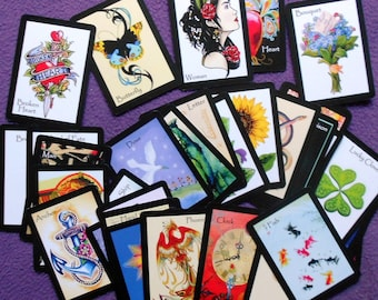 Eclectic Gypsy Fortune Telling Oracle 36 Cards by Lynn Boyle. Self Published.