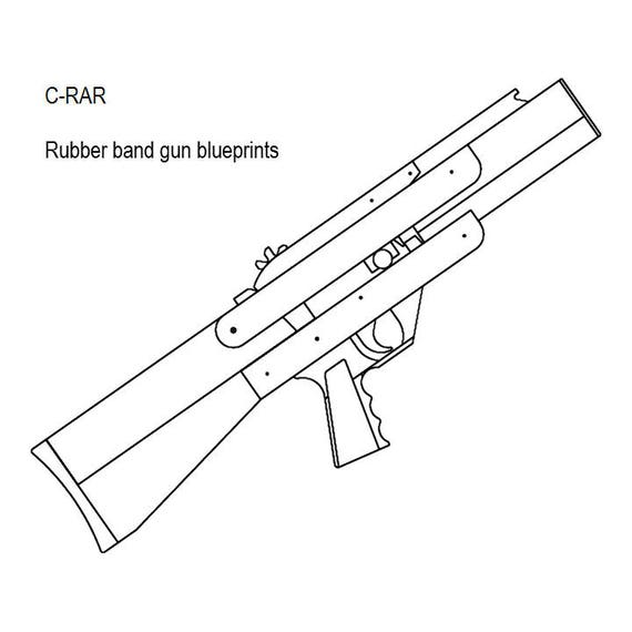 Blowback magazine fed rubber band gun plans malvernweather Image collections