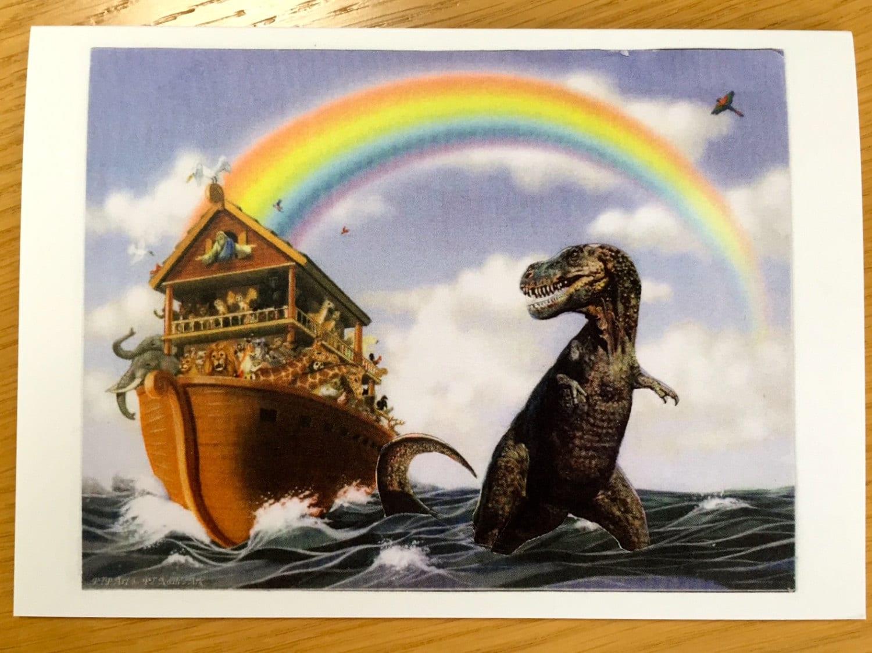Heathens greetings noahs ark and t rex zoom m4hsunfo