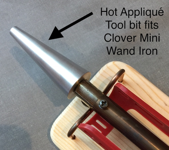 "HOT APPLIQUE CRAFT Tool - Works with Clover Mini Iron ""The Adapter"" for Crafting & Starch Applique"