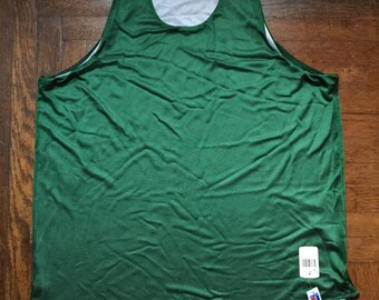 vintage russell athletic reversible mesh jersey tank men's size XL