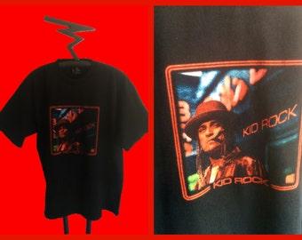90's Kid Rock T shirt rock n roll Southern Rock,  size X large