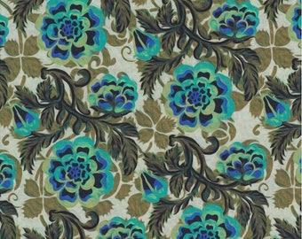 Pastiche, In the Beginning Fabrics, Jason Yenter, Green Peony Print