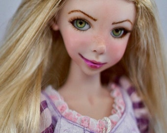 Bo's Birthday Sale! Repunzel Fine Art Doll faux porcelain BJD by Bo Bergemann
