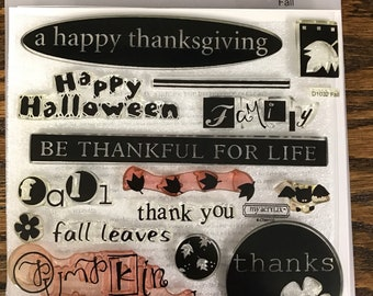 D1032 Fall - CTMH My Acrylix Stamp Sets