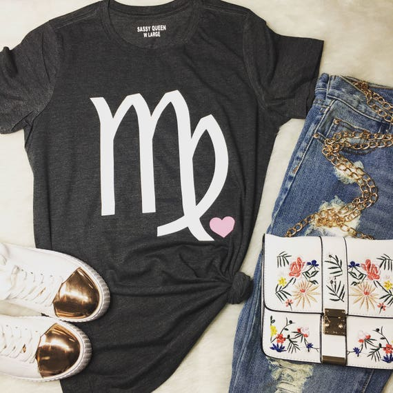 Virgo / August - September/ Zodiac/ Birthday Girl / Statement Tee / Graphic Tee / Statement Tshirt / Graphic Tshirt