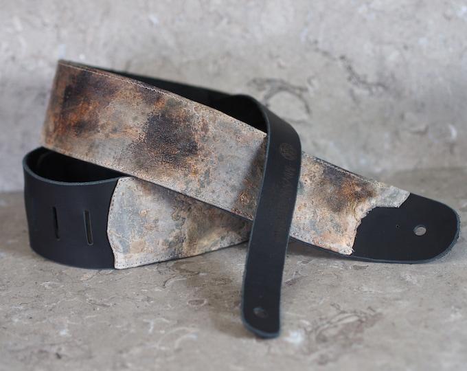 Post Apocalypse Industrial Punk Leather Guitar Strap