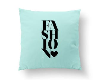 Fashion Pillow, Typography Pillow, Gold Fashion Pillow, Home Decor, Cushion Cover, Throw Pillow, Bedroom Decor, Bed Pillow,Decorative Pillow
