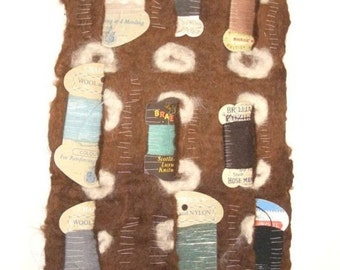 place so mended - textile artwork