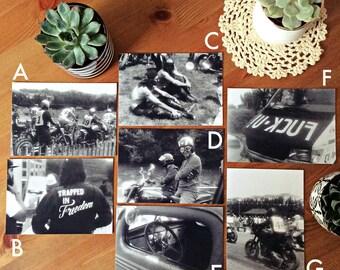 Signed Prints, small size - Leica IIIF + LadyGrey 400