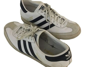 Adidas Beckenbauer White Leather Allround Original Classic Retro - US 11