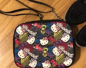 HELLO KITTY Crossbody/shoulder purse and IPad bag