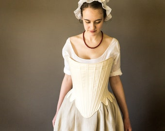 1750's-1770's Strapless Stays -- Synthetic Whalebone -- In Stock & Ready to Ship PLUS SIZES