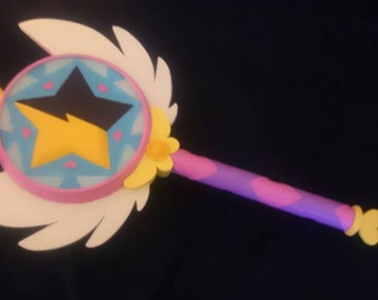 Star vs the Forces of Evil Inspired Star Butterfly  Wand Prop - Season 2