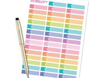 Flag Event Labels Planner Stickers - fits Erin Condren Planner and Happy Planner!