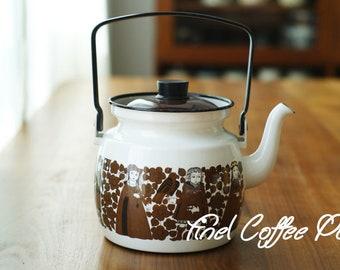 ARABIA FINEL Finland Kaj Franck  Enamel Tea Pot