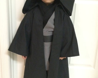 Jedi Costume Star Wars (Dark Side) Children's size 2T - 5T