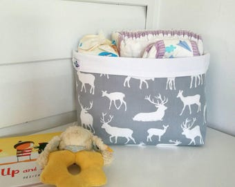 Nursery storage basket (wide)