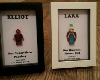 Personalised Superhero Pageboy gift