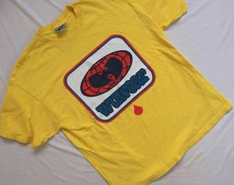 Vintage vtg 90s Wu Wear Shirt Big Logo Method Man RZA Rare Wu Tang