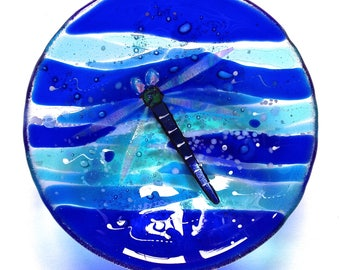 Glass Dragonfly bowl