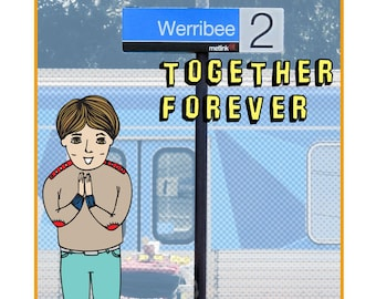 Melbourne Card - Werribee Together Forever