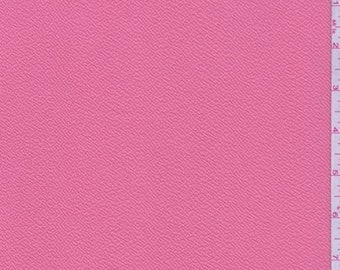 Coral Pink Textured Liverpool Knit, Fabric By The Yard