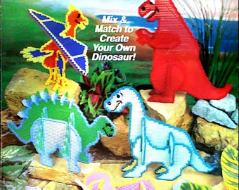 Dino Puzzle PDF Pattern only