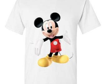 Mickey Mouse White T-Shirt