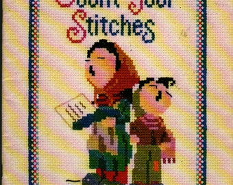 Count Your Stitches + 1975 + Vintage Craft Book