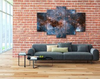 Large Magellanic Cloud, LMC, Hubble Photos, Space canvas, Galaxy wall art, Galaxy canvas, Hubble canvas, Galaxy wall art, Space print