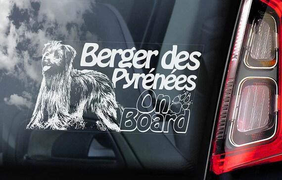 French Breton Dog Decal V01 Car Window Sticker Brittany Spaniel on Board
