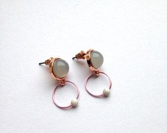 moon . drop . earrings