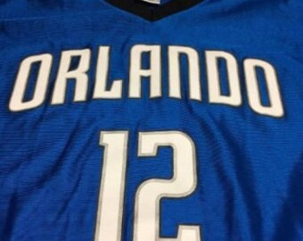 Orlando Magic Dwight Howard Team jersey, number 12 Howard, Basket ball jersey.