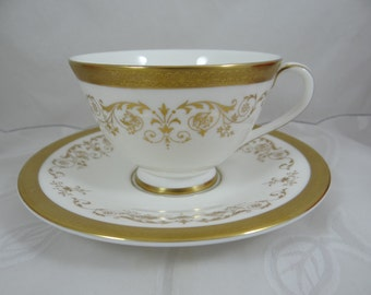 "Vintage Royal Doulton English Bone China Teacup ""Belmont"" Pattern - 2 Available - English Tea Cup"