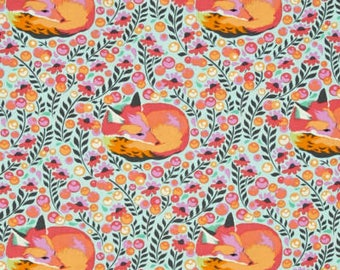 Fox Nap Sorbet - Chipper by Tula Pink - Freespirit Fabrics -  100% Quilters Cotton PWTP080