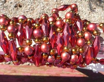 Red Vintage Garland