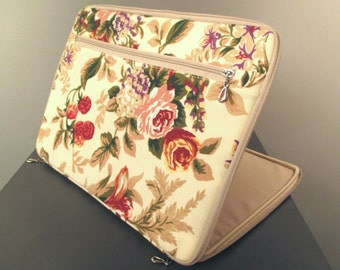 Macbook Case Fabric Floral Laptop Case Macbook Pro 13 Case Laptop Sleeve 13 Macbook Air Case Laptop Bag Macbook Pro Case Macbook Pro 15 Case