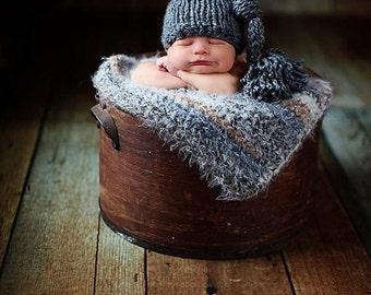 Newborn Baby Blanket Photo Prop Super Soft Photography Prop Basket Filler