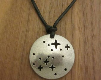 Canis Major Constellation Necklace - Astronomy Necklace, Science Jewelry