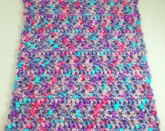 Crocheted afghan throw AFG15003 for Barbie, Monster High, Bratz