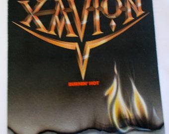 Xavion Burnin' Hot Promo Vinyl LP Record 60375-1
