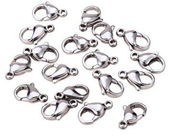 Lobster clasp (Stainless steel)
