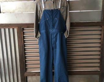 Vintage Winter Insulated Overalls L/XL