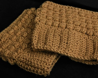 Puffy Boot Cuffs