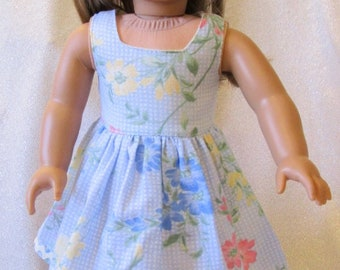 """Spring Sun Dress for the American Girl Doll or any other 18"""" Doll – On Sale"""