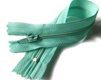 Zipper zip / MINT / 23cm