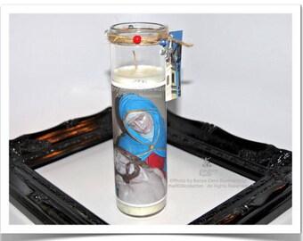 Pieta Candle