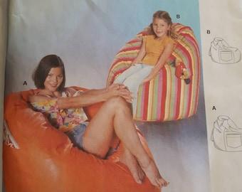 Burda 8373, Bean Bag Chair Sewing Pattern